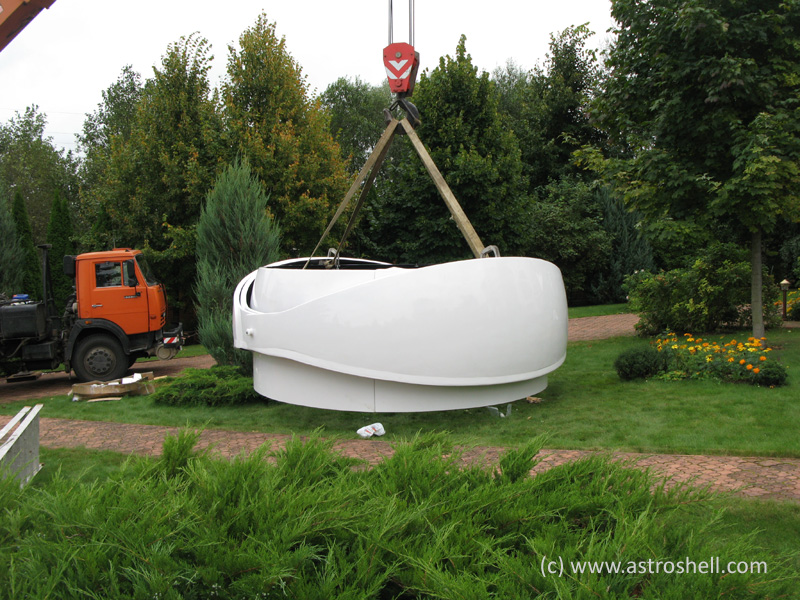 Buy Astroshell clamshell telescope dome